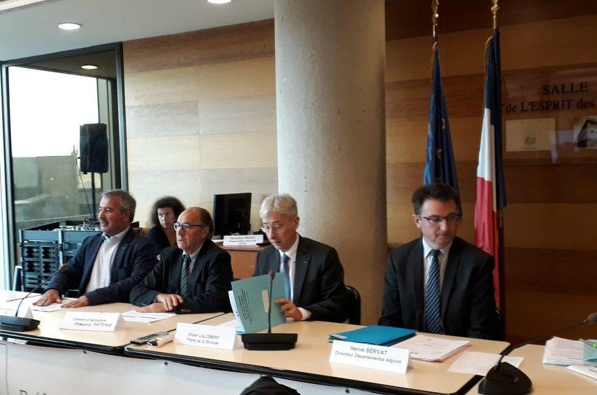 Le préfet de Gironde a présidé la réunion