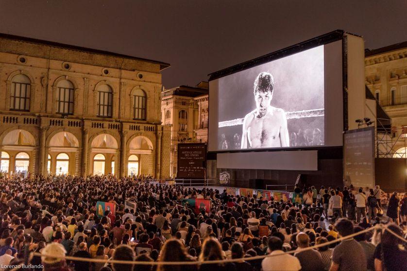 Séance au Festival Il Cinema Ritrovato en 2018