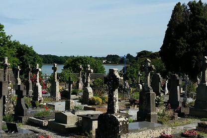 Le cimetière de l'île aux Moines