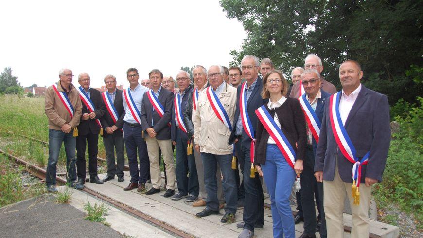 17 maires du Pévèle-Mélantois se mobilisent sur l'ancienne ligne Ascq-Orchies