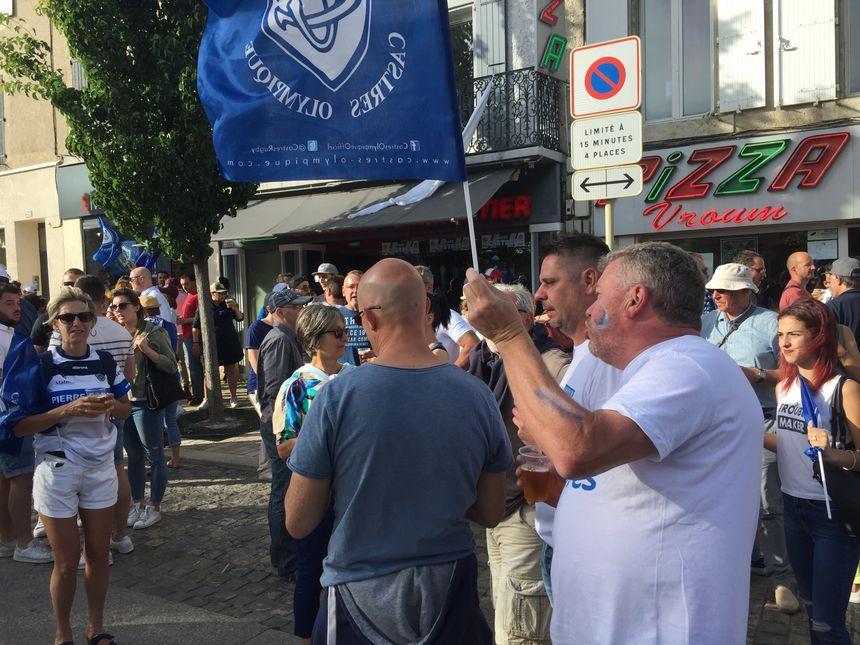 Troisième finale en 5 ans, les supporters castrais sont rôdés.
