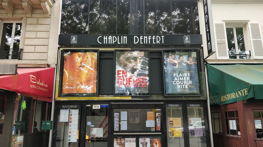 Le Chaplin Denfert, 24 place Denfert Rochereau.
