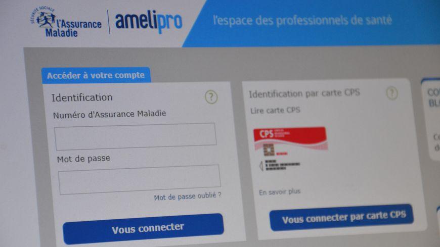 """Le logiciel mis en place par la CNAM : """"Ameli Pro"""""""