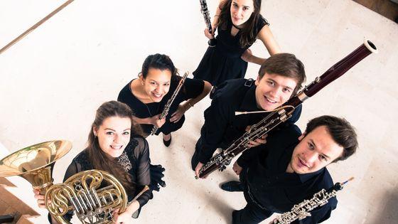 Le Quintette Akebia © Association Jeunes Talents
