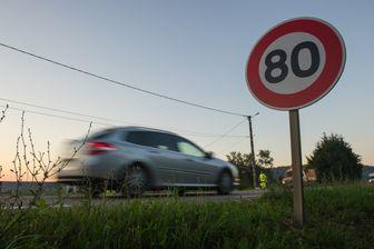 Au 1er juillet, la limitation passera de 90 à 80 km/h sur les routes à double sens sans séparateur central.