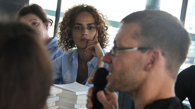 Leila Slimani, une présidente concentrée