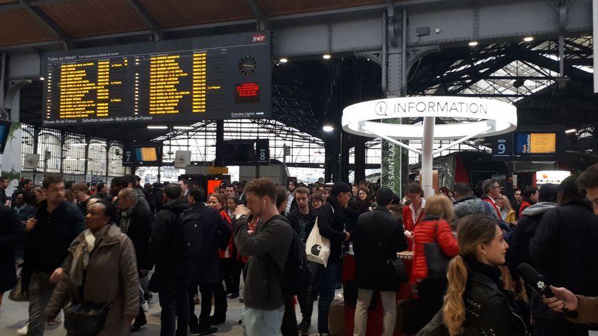 Nouvel épisode de grève à la SNCF (illustration)