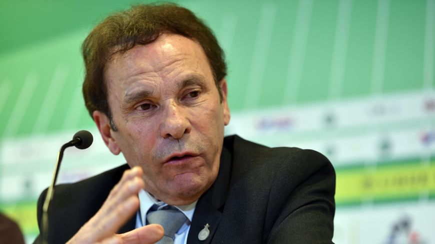 Roland Romeyer, président de l'AS Saint-Étienne.