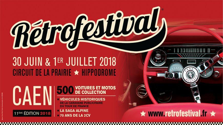 Affiche Rétro Festival 2018 - Caen