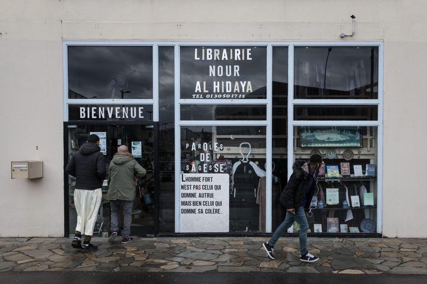 La librairie musulmane Nour Al Hidaya de Trappes