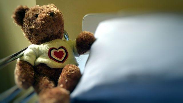 Un doudou à l'hôpital