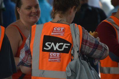 Grève des salariés de la SNCF le 7 juin à Paris