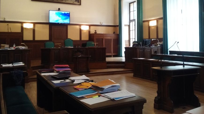 La salle d'audience de la Cour d'assises de la Moselle