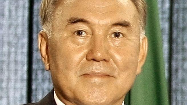 Nursultan Nazarbayev président du Kazakhstan