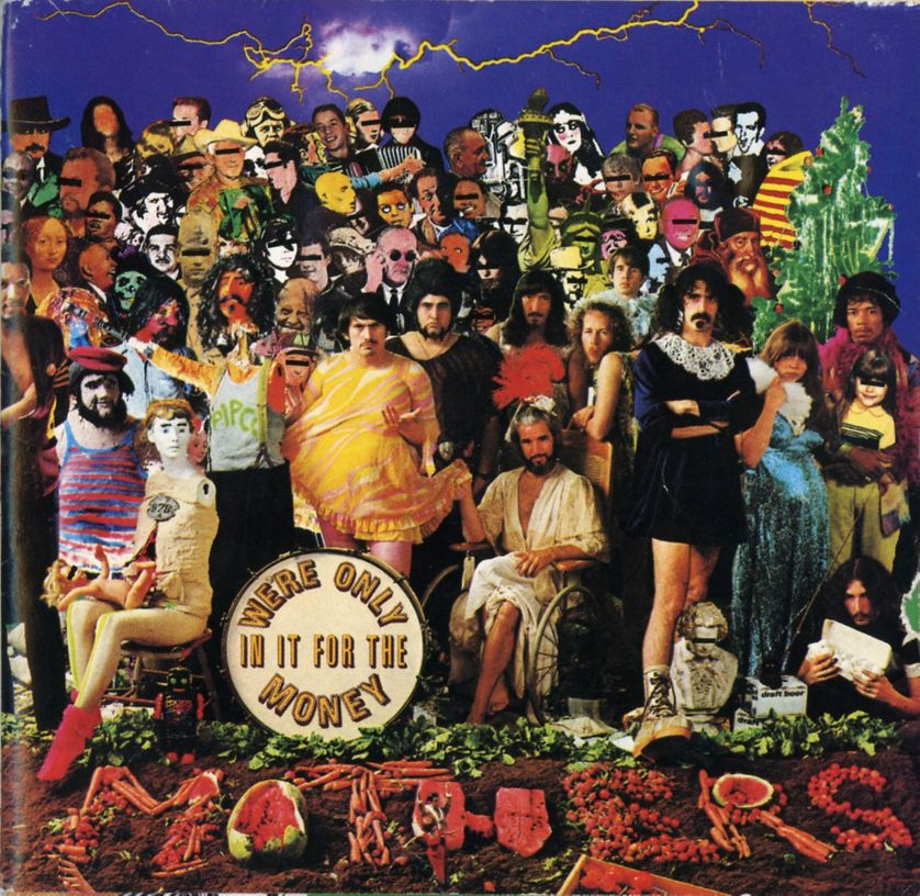 FRANK ZAPPA AND THE MOTHERS OF INVENTION, We're only in it for money (1966)