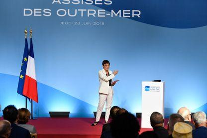 Annick Girardin, ministre des Outre-mer, aux assises des outre-mer