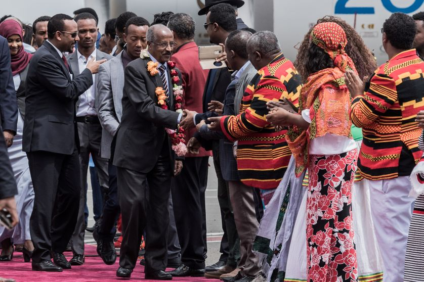 Le nouveau Premier ministre Abiy Ahmed a entamé une normalisation des relations avec l'Erythrée, après 20 ans de conflit