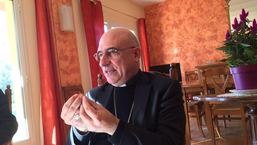 Monseigneur Souchu est arrivé en novembre dernier dans les Landes