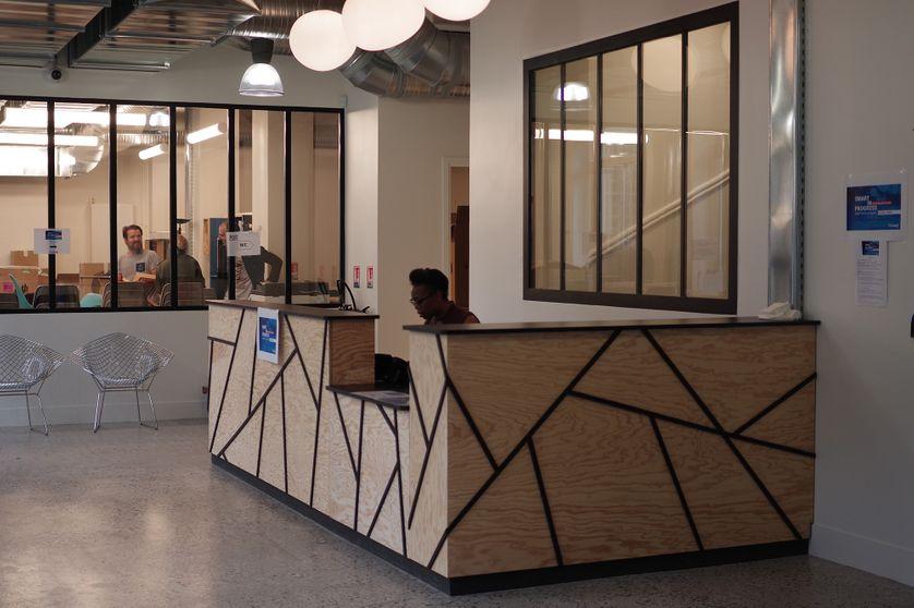 FAR, accélérateur de projets culturels (Paris 11), vue intérieure