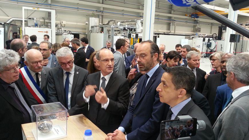 """Edouard Philippe a installé ce jeudi matin un """"comité de surveillance"""" à Metz pour veiller à la bonne gestion des investissements de l'Etat"""