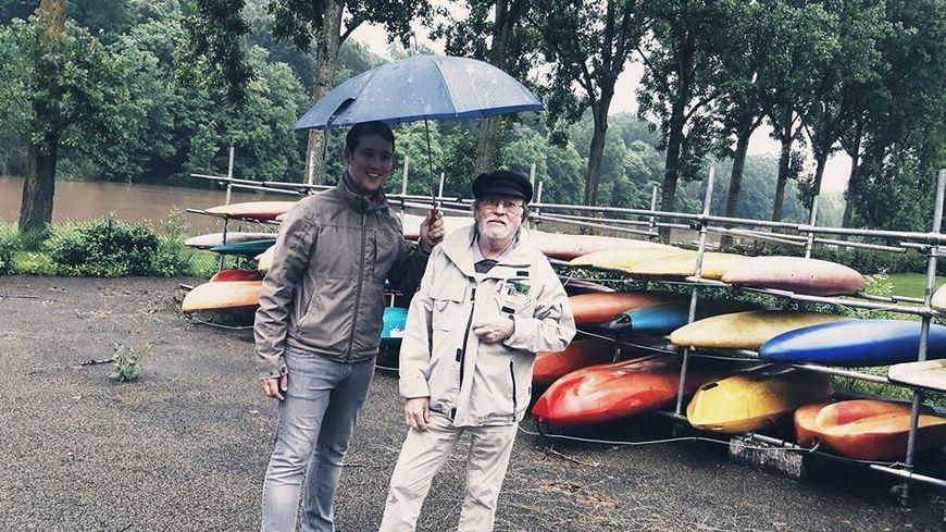 Patrick Picaut, vice président du Canoe Kayak Club d'Ambrières les Vallées