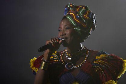 La chanteuse malienne Fatoumata Diawara