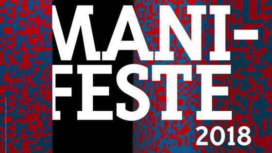 affiche Festival Manifeste 2018 - du 6 au 30 juin
