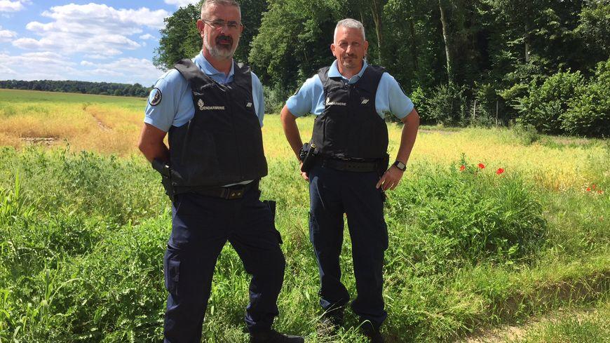 Philippe et Francis sont deux des quatre patrouilleurs du Vexin