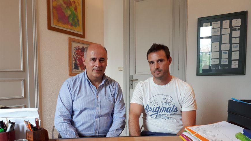 Mathieu Portet, le père de Manon, dans le bureau de son avocat à Bordeaux, maître Christian Dubarry
