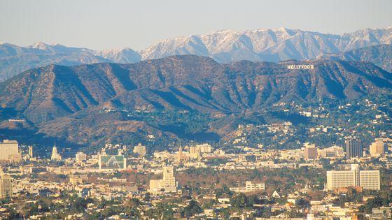 Vue d'Hollywood (Los Angeles)