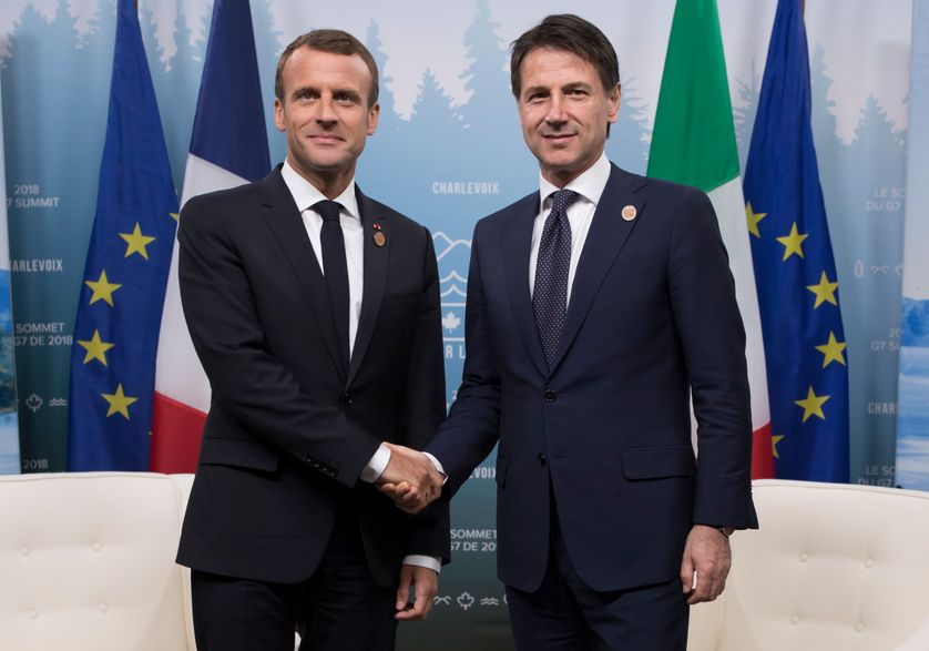 La dernière rencontre entre Giuseppe Conte, le président du Conseil italien et le président Macron remonte au 7 juin au Canada