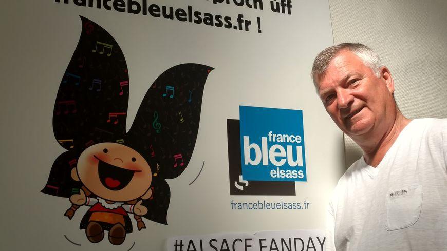 Gérard Staedel et l'Alsace Fan Day