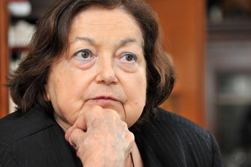 L'anthropologue française Françoise Héritier