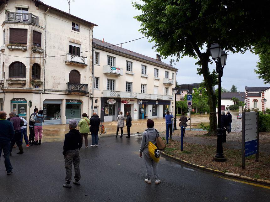 A Salies-de-Béarn