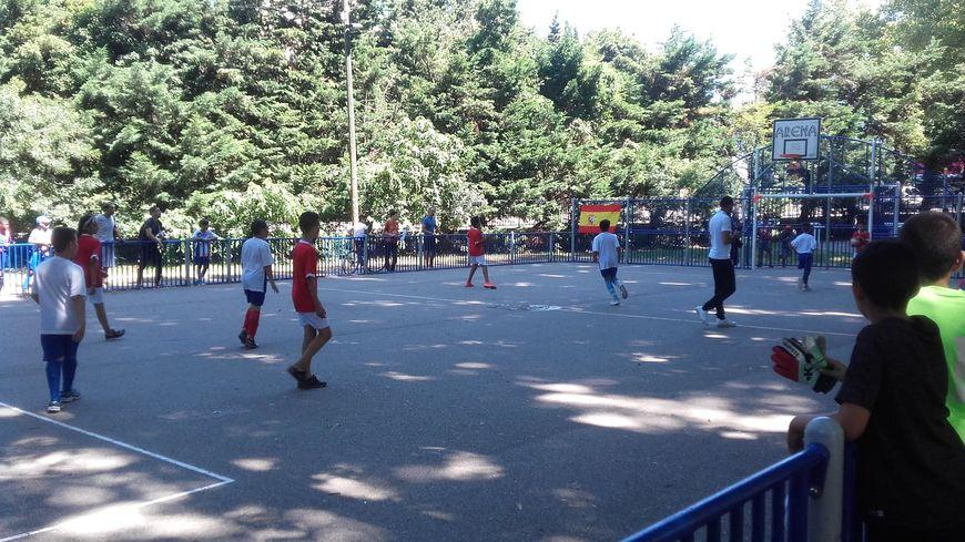 Cette Coupe du Monde rassemble 224 enfants des quartiers d'Avignon