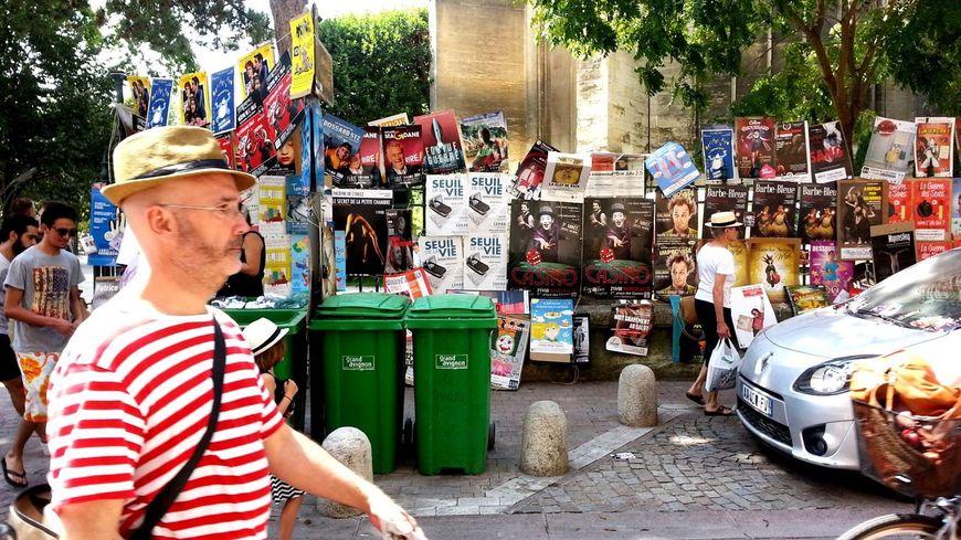 Les affiches du festival Off d'Avignon