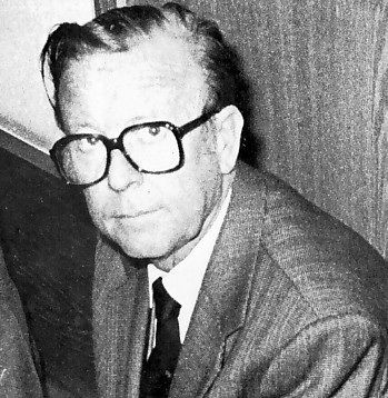 Ernst Heinrichsohn lors de son procès (Cologne 1980)