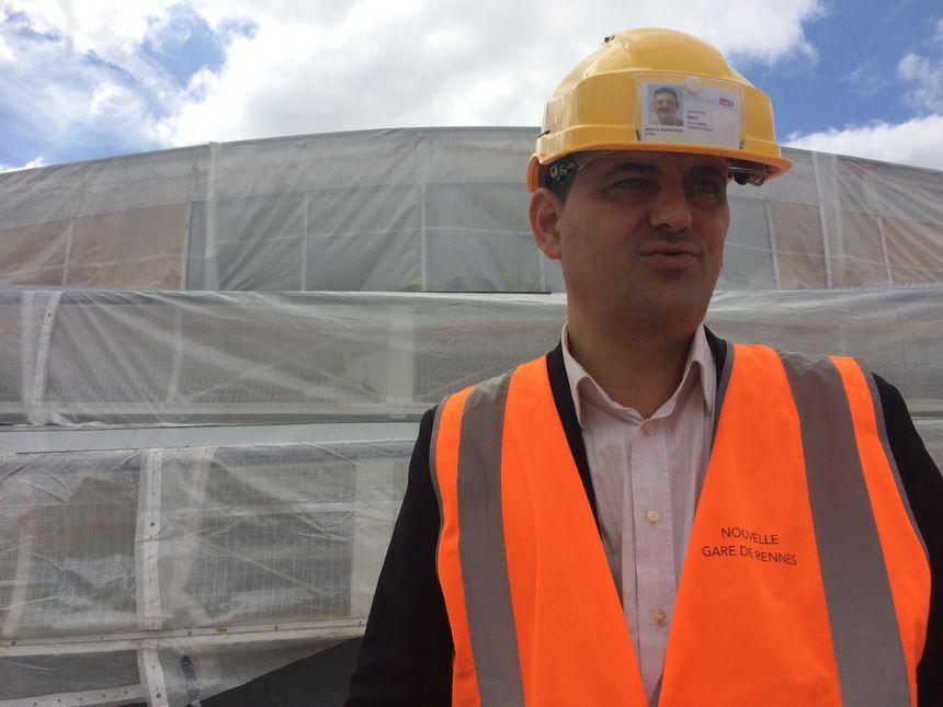 Pascal Croce, directeur de projet de la nouvelle gare de Rennes