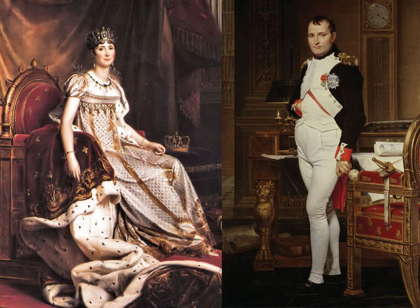 Joséphine de Beauharnais et Napoléon