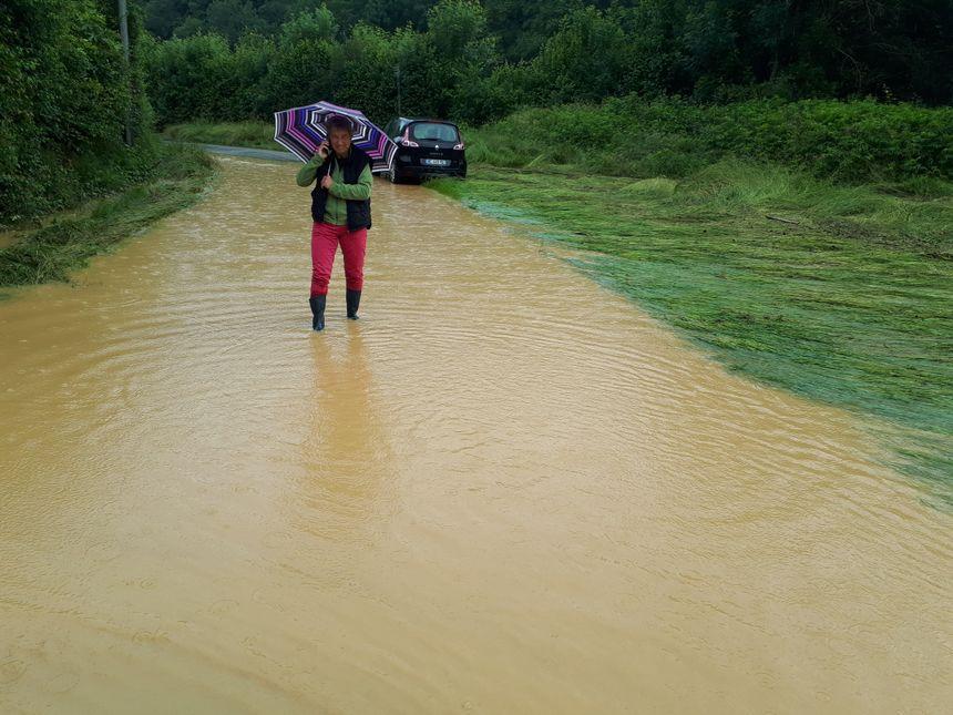 L'eau est montée très rapidement, racontent les habitants.