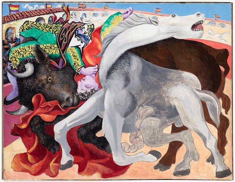 Pablo Picasso, Corrida:  la mort du torero, 1933 ©RMN-Grand Palais/Mathieu Rabeau ©Succession Picasso 2018