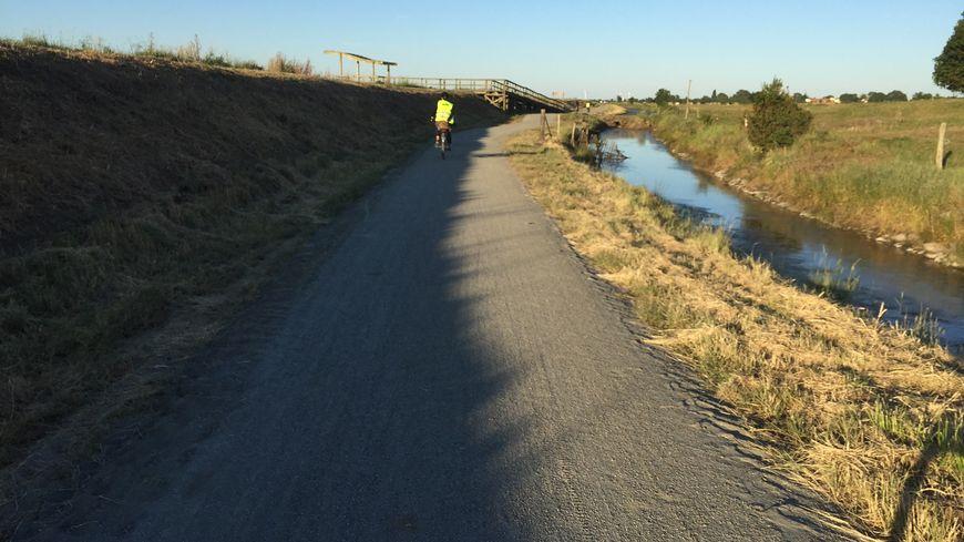 Les piste fait 7 kilomètres. ( photo : Département Loire Atlantique)
