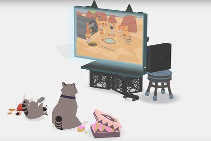 """""""Donut County"""", un jeu vidéo avec des ratons-laveurs et un trou dans le sol"""