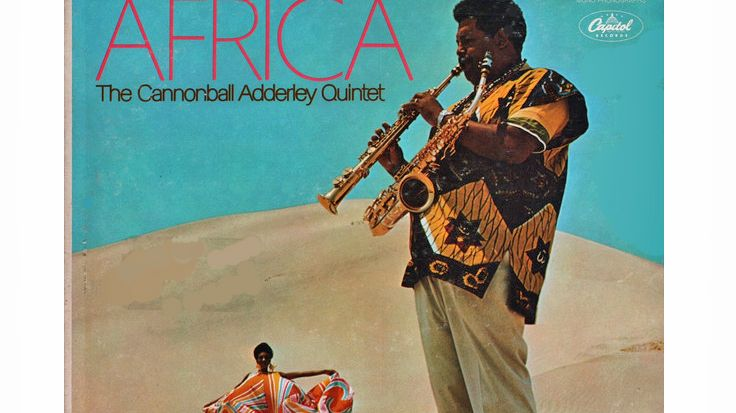 The Cannonball Adderley Quintet ‎– Accent On Africa (Capitol ‎– ST-2987)