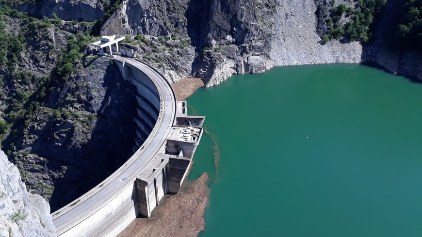Le barrage de Monteynard Avignonet
