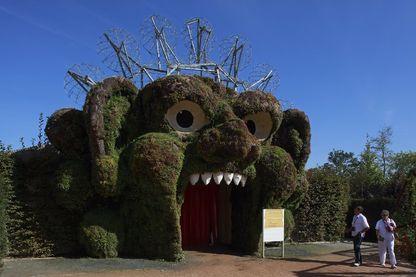 Une des attractions végétales du Parc de loisirs naturel et bio, Terra Botanica