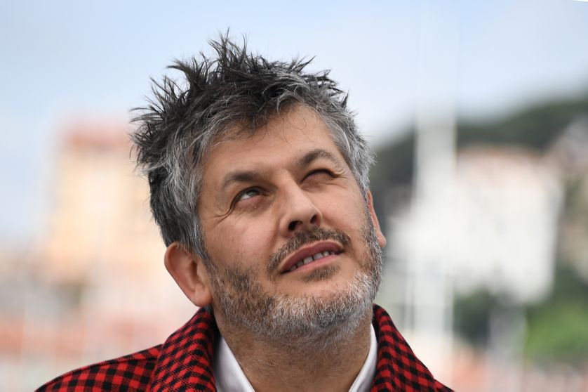 Christophe Honoré à Cannes, 2018.