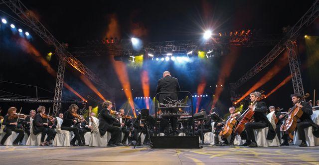 Orchestre centre Un Violon sur le Sable