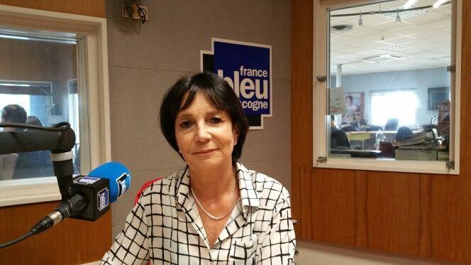 Joëlle Dartenuc présidente de l'association Lous Pitchouns du Moun