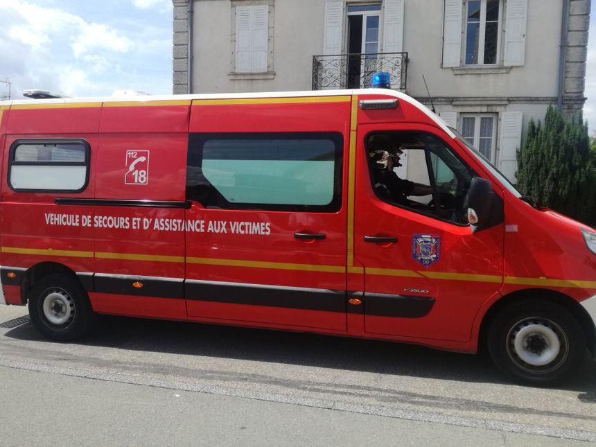 Les pompiers du Territoire de Belfort (ici lors de leur congrès départemental à Montreux-Château) pallient trop souvent à la pénurie d'ambulances privées